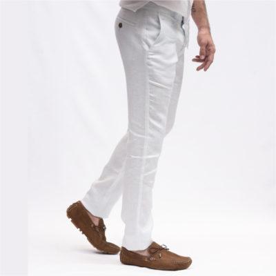 Pantalon Lino Hombre Renzo
